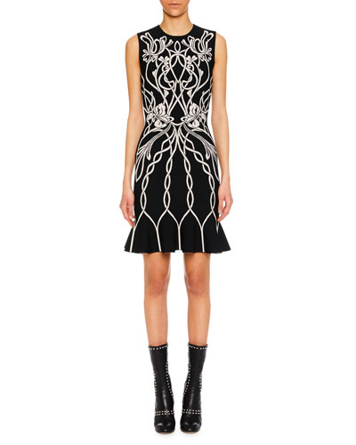32921ca4 Alexander Mcqueen Sleeveless Womens Dress | Neiman Marcus