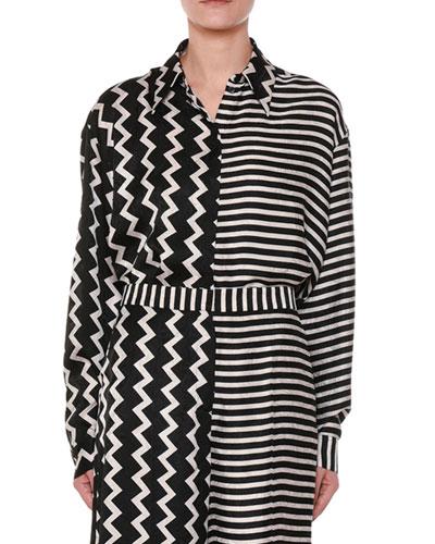4489a071c67fb White Silk Shirt