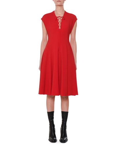 fc9d043f75ed Stella Mccartney Sleeves Dress | Neiman Marcus