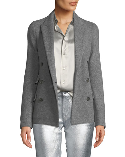 Camden Double-Breasted Cashmere Jacket