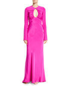 CUSHNIE Mixed-Fur Mid-Length Coat and Matching Items &