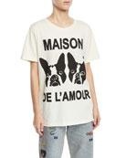 Gucci Orso & Bosco Short-Sleeve T-Shirt