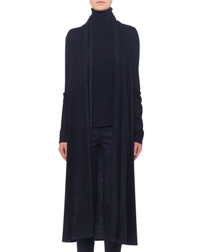 Renate Open-Front Cashmere Cardigan