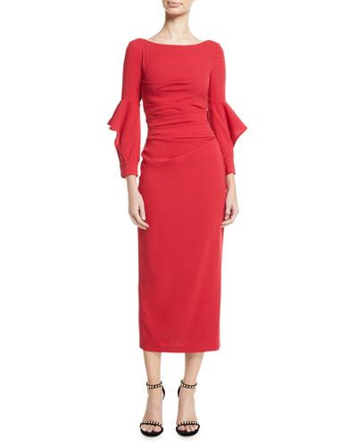 e6aea8a3b91 Long Sleeves Casual Dress