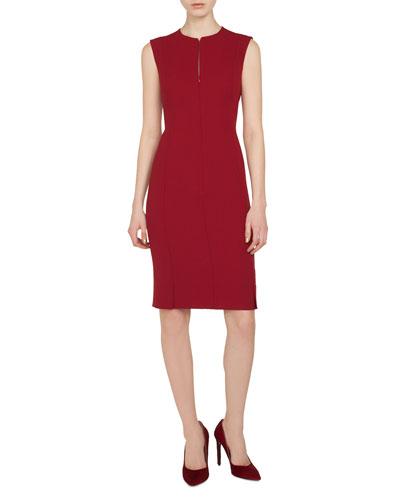 b48a8b5cb0 Akris Wool Silhouette Dress