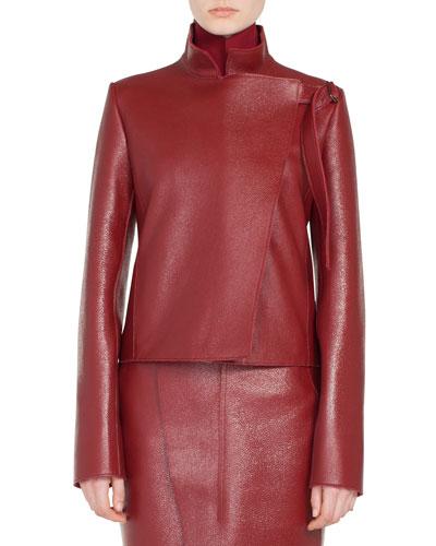 fec40bc5 Asymmetric Front Zip Jacket   Neiman Marcus