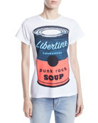 Libertine Punk Rock Soup Photo-Print Jersey Tee