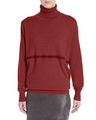 9600226661 Quick Look. Brunello Cucinelli · Cashmere Turtleneck Sweater ...