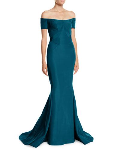 Mermaid evening gown neiman marcus quick look junglespirit Choice Image