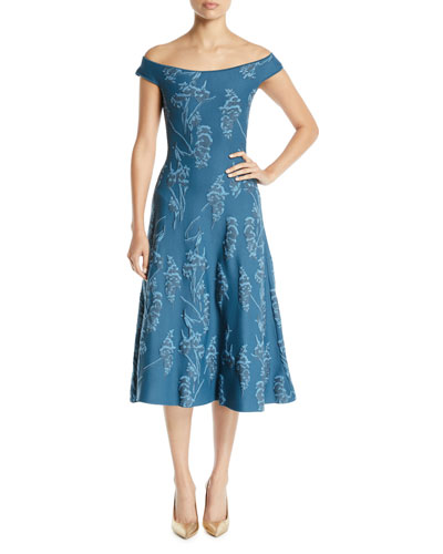 c6f3dae79139 Blue Cocktail Dress