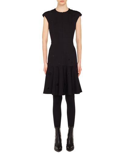 042700f6fc5 Black Front Zip Dress