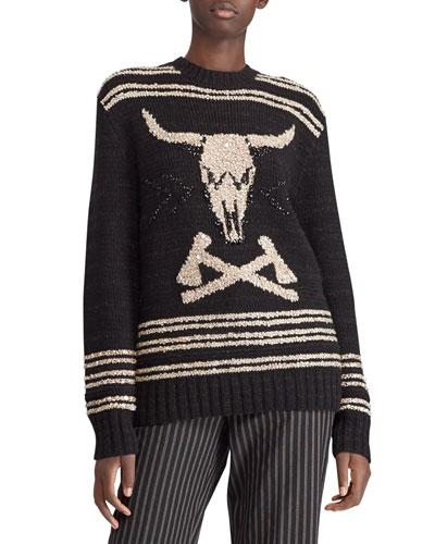 166bd117 Ralph Lauren Long Sleeves Sweater   Neiman Marcus
