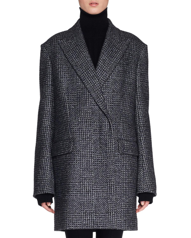 Mewey Wrap Fleece WoolBlend Coat
