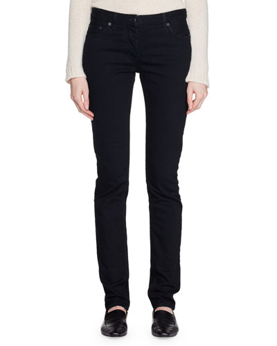 Bonly Low-Rise Skinny Denim Pants
