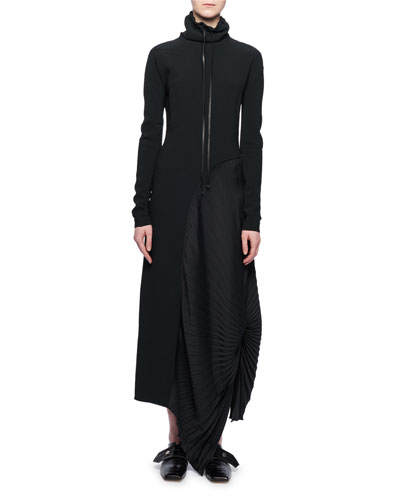 Black Long Sleeves Dress Neiman Marcus