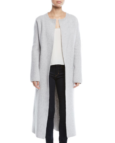 4f3ddda0534 Quick Look. Brock Collection · Koffi Long Belted Wool-Cashmere Duster  Cardigan