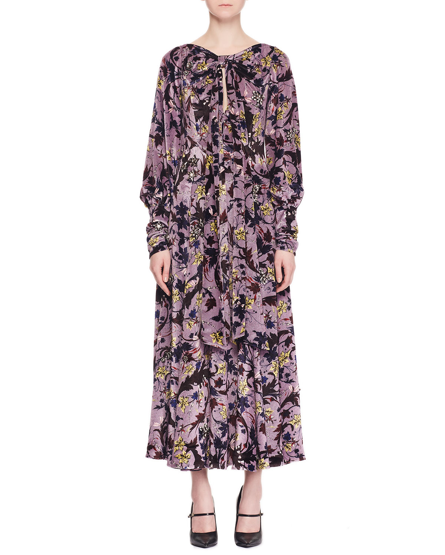 dbff52fd910 Palmer Sleeveless Beaded-Embroidered Velvet Cocktail Dress w  Pleated Hem