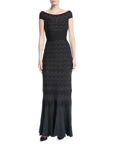 Rayon Evening Gown Neiman Marcus