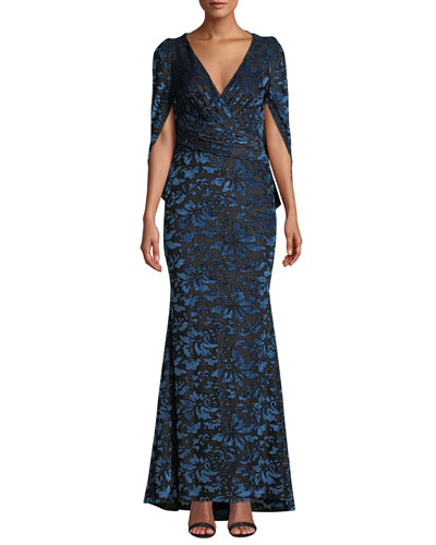 48ba0d950930 Viscose Evening Gown | Neiman Marcus