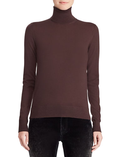 50th Anniversary Turtleneck Long-Sleeve Cashmere Sweater
