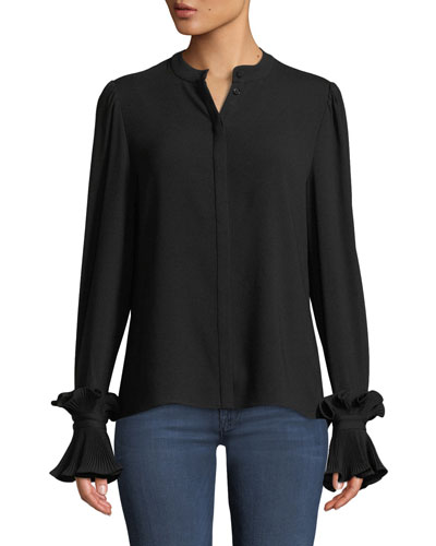 64a7a3d172 Polyester Crepe Blouse   Neiman Marcus