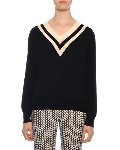 4846528ff9679 Long Sleeves Wool Sweater