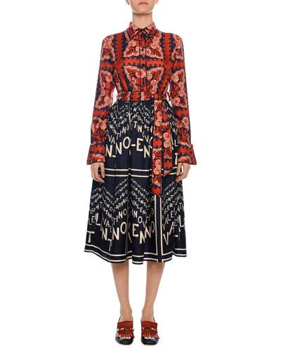 64981aae8bf0ec Valentino Designer Silk Dress   Neiman Marcus