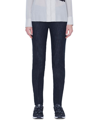 Magda 5-Pocket Slim Stretch Denim Pants