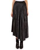 Isabel Marant Demmo Long-Sleeve Liquid-Look Tunic and Matching