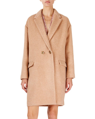 9225a68b4e18c8 Long Sleeves Cashmere Coat | Neiman Marcus