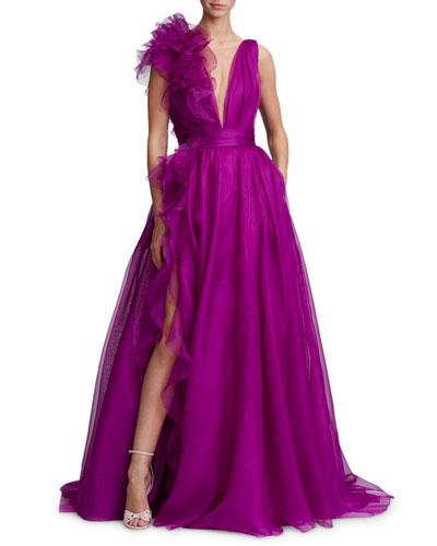 Marchesa Evening Gown | Neiman Marcus