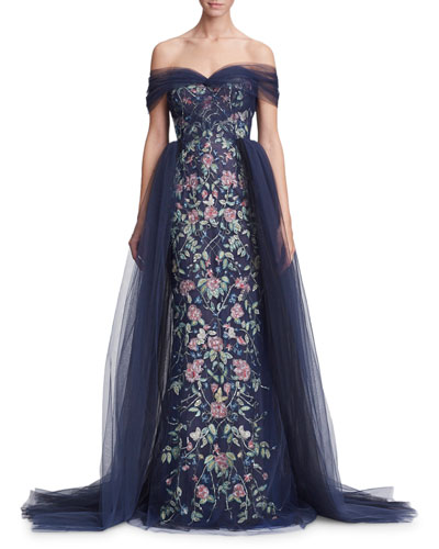 5ff1489cf403 Marchesa Evening Gown | Neiman Marcus