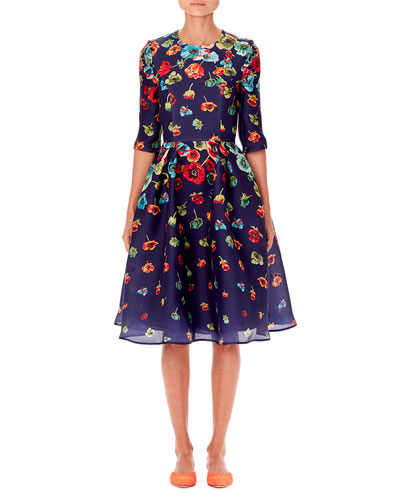 6191d19fa5 Carolina Herrera Dress | Neiman Marcus
