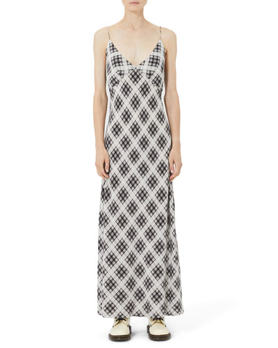 0ab4c751eb0 Quick Look. Marc Jacobs · Plaid Washed-Silk Cami Dress