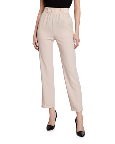 Tech Cady Pants with Satin Waistband