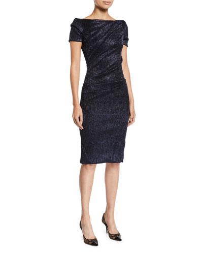 af9d3d86b0 Gathered Neckline Dress