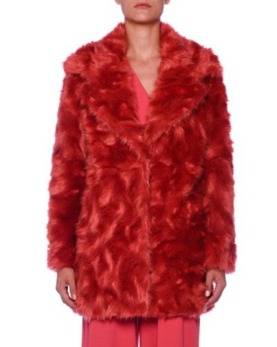 Faux-Fur Chubby Coat