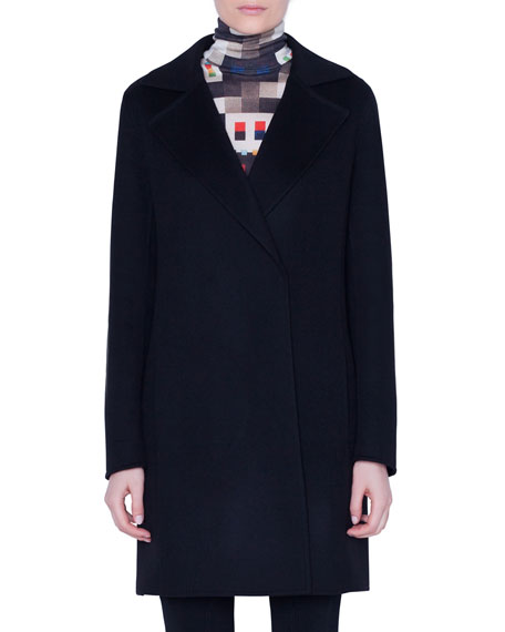 Akris Bera Cashmere Coat