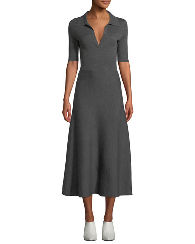 277d10887 Fitted Cashmere Dress   Neiman Marcus