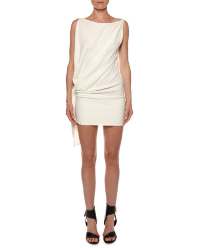 1bf98c04 Quick Look. TOM FORD · Open-Side Blouson Viscose Cady Mini Cocktail Dress