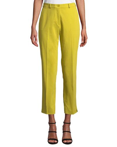 2e6e6ccff460a8 Cropped Capri Pants | Neiman Marcus