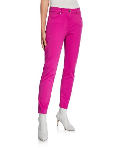 Five-Pocket Skinny-Leg Ankle Jeans
