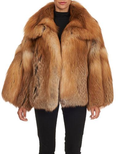 a776af8f94e Quick Look. Oscar de la Renta · Fox Fur Jacket