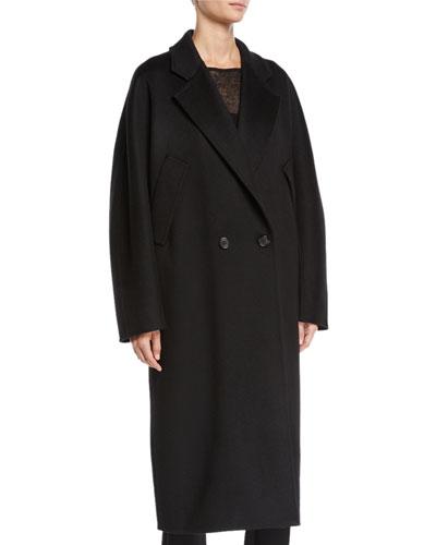 Zelig Cashmere Long Cape Coat