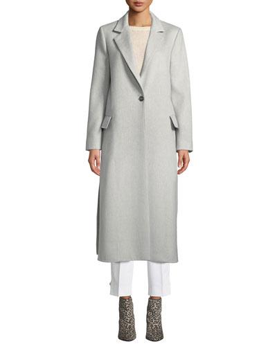 Paris Long Camel-Wool Coat