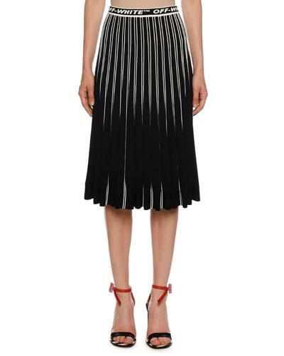 f945f534bff Black Silhouette Skirt