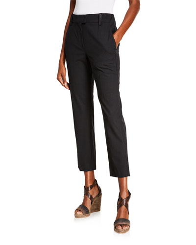 a811d3f8 Narrow Ankle Pants | Neiman Marcus