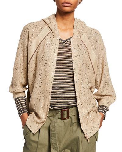 372a7b39715 Beaded Cardigan Sweater