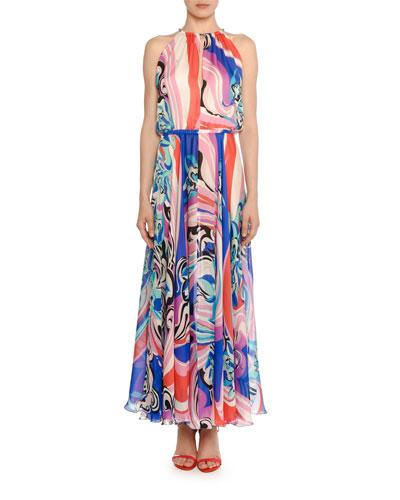 Silk Maxi Dress  0cdf1b7d4
