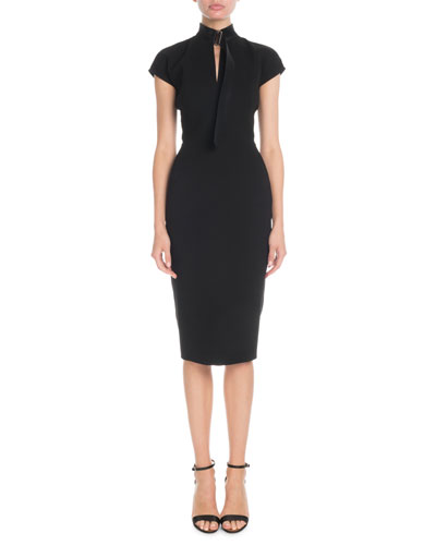 Victoria Beckham Black Dress